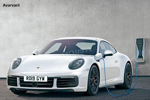 保时捷911将推插电混动版车型 2019年发布