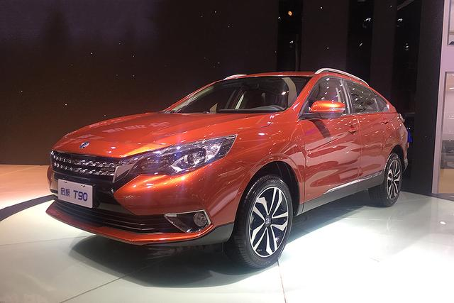2018款启辰T90亮相重庆车展 年内再推小型SUV