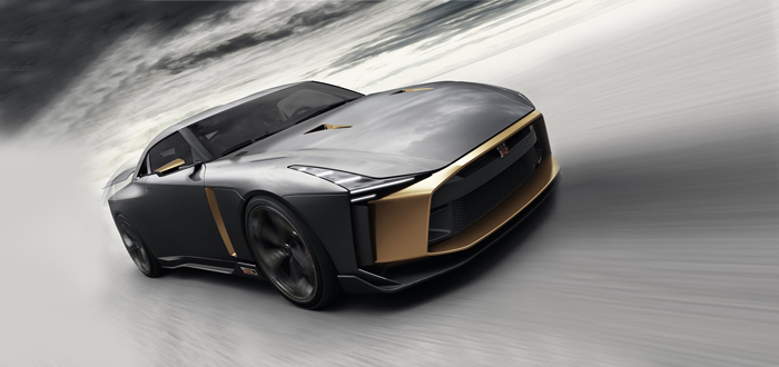 战神的新衣 日产GT-R50概念车官图发布