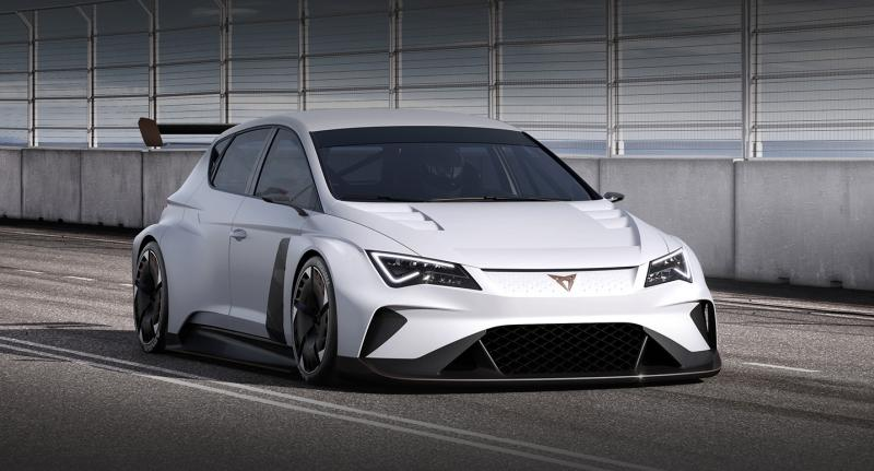 Cupra e-Racer公布详细参数 3月日内瓦亮相