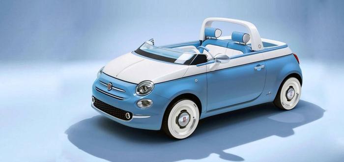 独特的蓝白色 菲亚特500两款特别版官图