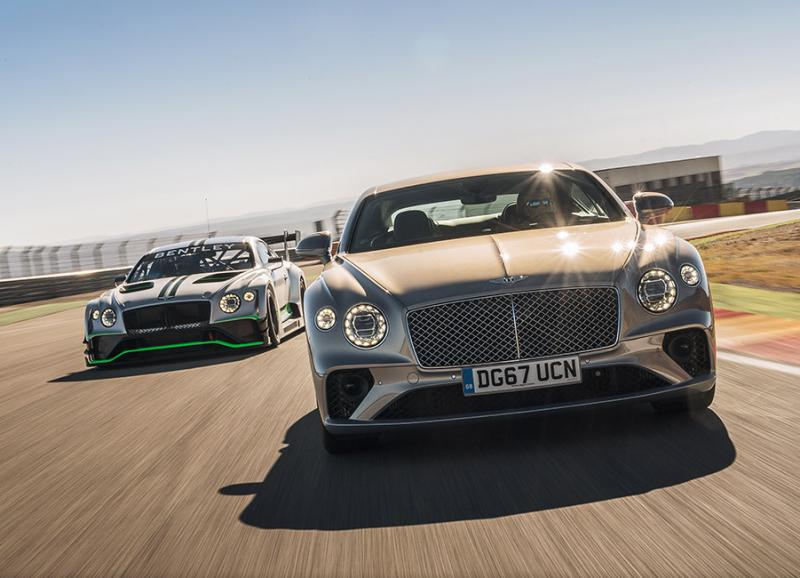 宾利携3台车型 亮相英国古德伍德速度节