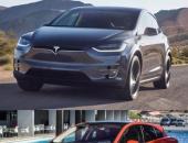 特斯拉Model X与捷豹保时捷奥迪的纯电动车PK