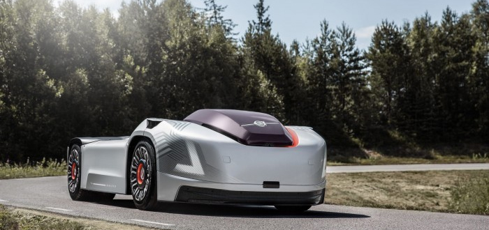 沃尔沃自动驾驶概念车Vera:无驾驶室