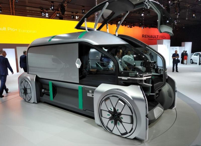 快递物流新模式 雷诺EZ-Pro概念车亮相