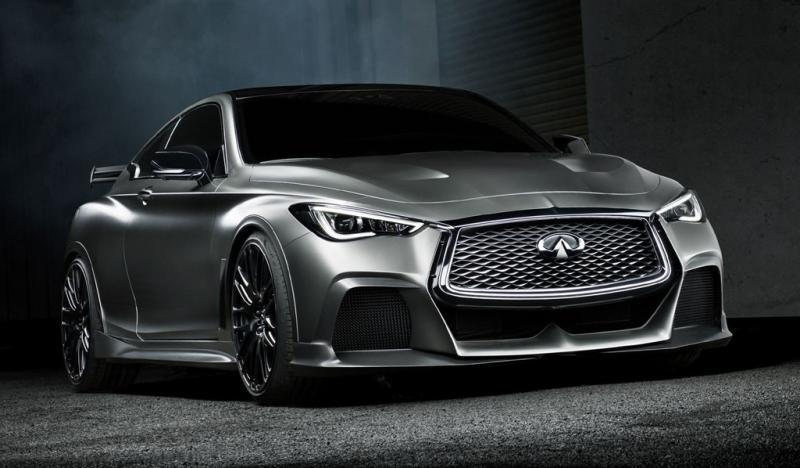 Q60 Black S高性能混动原型车10月发布