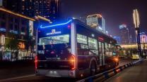 智能网联公交献礼中国国际进出口博览会