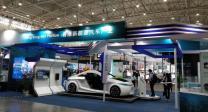 香港新能源产业展馆亮相武汉汽车展览会