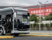 宇通智能网联纯电动公交为上海美好出行