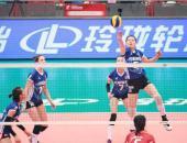 中国女排超级联赛 北汽女排两连胜登榜首