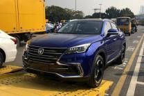 2018广州车展探馆:长安CS85中型SUV实车