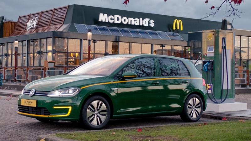 与麦当劳合作 大众e-Golf推出特别版