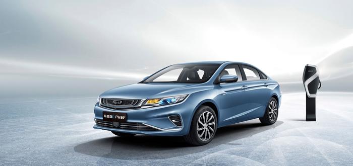 二季度上市 帝豪GL PHEV车型官图发布