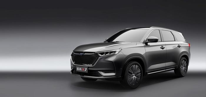 将于上海车展正式亮相 欧尚X7官图发布