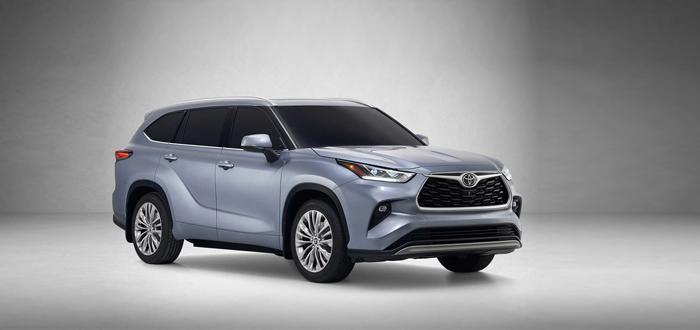 纽约车展首发 丰田全新汉兰达官图发布
