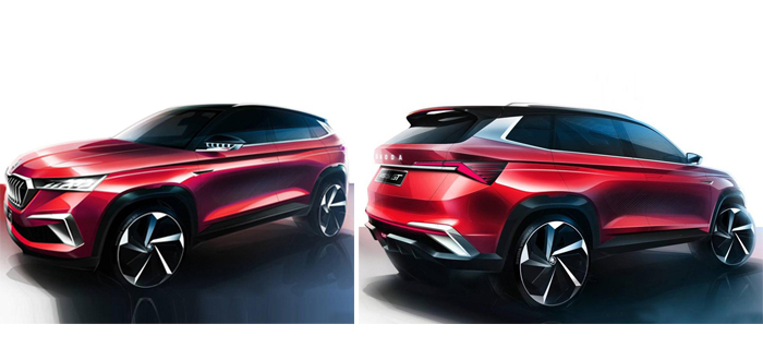 6月首发 斯柯达Vision GT概念车草图